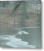 A Very Cold Rain Metal Print