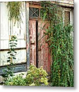 A Very Old Door Metal Print