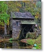 A Very Old Grist Mill Metal Print