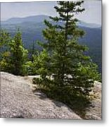 A View From A Mountain In A Vermont State Park Metal Print