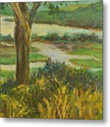 A View From Boscobel Metal Print