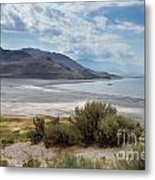 A View From Buffalo Point Of White Rock Bay Metal Print