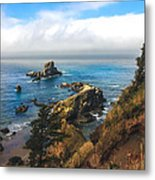 A View From Ecola State Park Metal Print