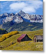 A View From Last Dollar Road Metal Print