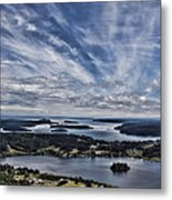 A View From Mt. Erie Metal Print