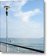 a View from Pier Metal Print