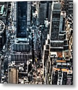 A View From The Empire State Building Metal Print