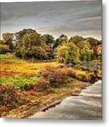 A View From The Old North Bridge Metal Print