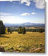 A View From The Peaks  Metal Print