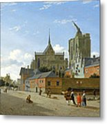 A View In Cologne Metal Print
