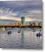 A View Of Back Bay - Boston Skyline Metal Print