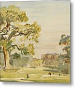 A View Of Chirk Castle, 1916 Metal Print
