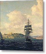 A View Of Constantinople Metal Print