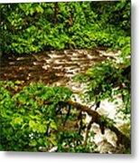 A View Of Eagle Creek Metal Print