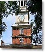 A View Of Independence Hall Metal Print