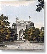 A View Of Part Of The Tomb Metal Print