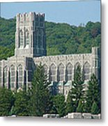 A View Of The Cadet Chapel At The United States Military Academy Metal Print