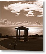 A View Of The Pacific Metal Print