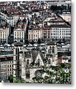 A View Of Vienne France Metal Print