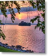 A View To A Sunset Metal Print
