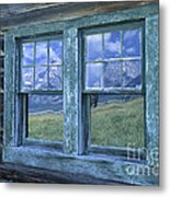A View To The Tetons Metal Print