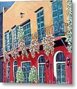 A Visit To New Orleans Metal Print