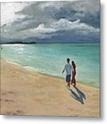 A Walk At Tumon Bay Guam Metal Print