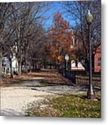 A Walk Down History Lane Metal Print
