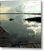 A Walk Into The Closing Day Metal Print