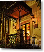A Warm Summer Night In Charleston Metal Print