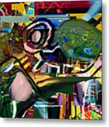 A Way To Bring The World To Tsheuvah 06 Metal Print