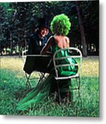 A Very Green Weekend In The Country Metal Print