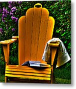 A Well Deserved Rest Metal Print