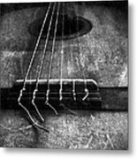 A Well Played Guitar Metal Print