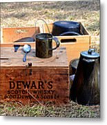 A Well Stocked Camp Metal Print