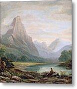 A Welsh Valley, 1819 Metal Print
