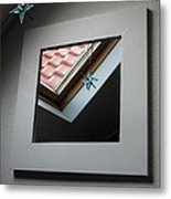 A Window To Parallel World Metal Print