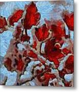 A Winter Eden Metal Print