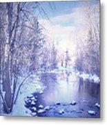 A Winter Reverie Metal Print