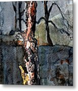 A Withering Warrior Metal Print