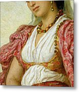 A Woman From Algiers Metal Print