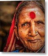 A Woman Of Faith Metal Print