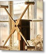 A Womans Work Is Neverdone Metal Print