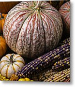 A Wonderful Autumn Harvest Metal Print