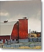 A Working Farm Metal Print