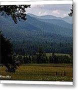 A Young Family Visits The  Great  Smoky Mountains Metal Print