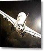 A340 Takeoff Metal Print