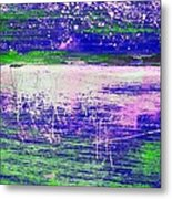 Aa3 1 Paint Textures Abstract Collage Metal Print