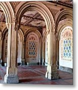Architecture In Central Park Metal Print