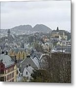 Aalesund From Above Metal Print